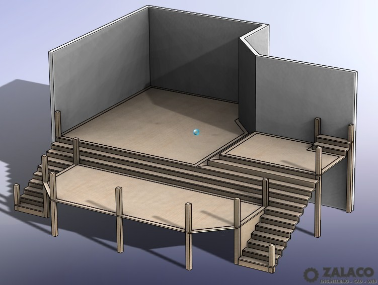 3D Modeling of a Deck Concept