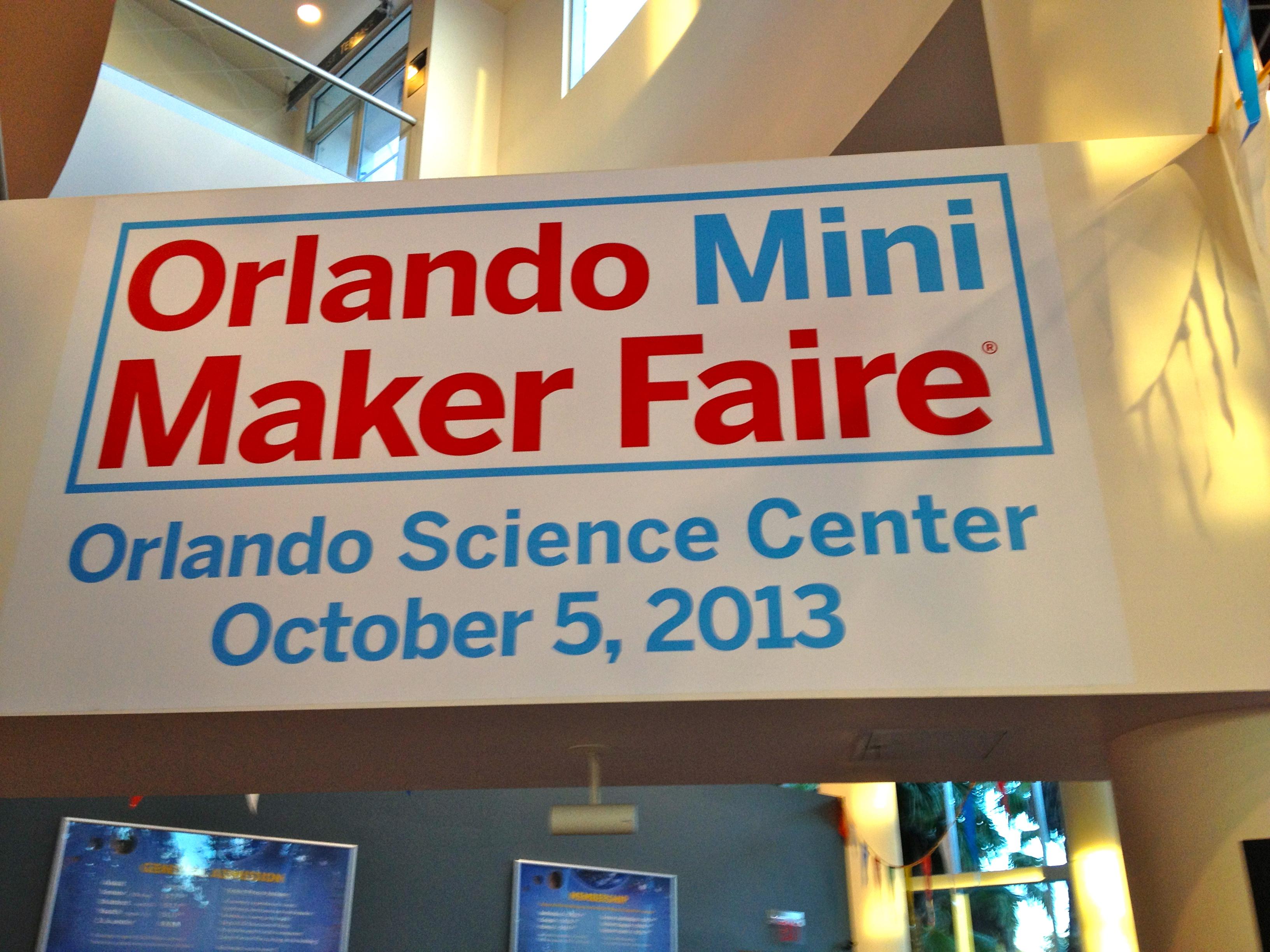 Orlando Mini Maker Faire 2013