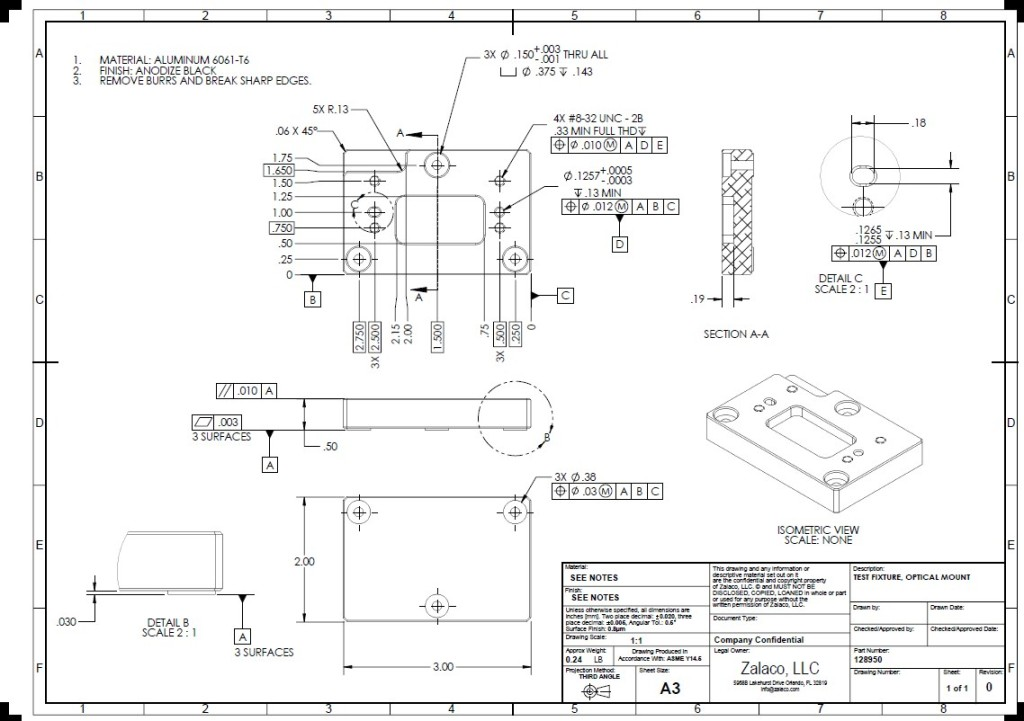 Mechanical Drafting And Documentation Zalaco Llc
