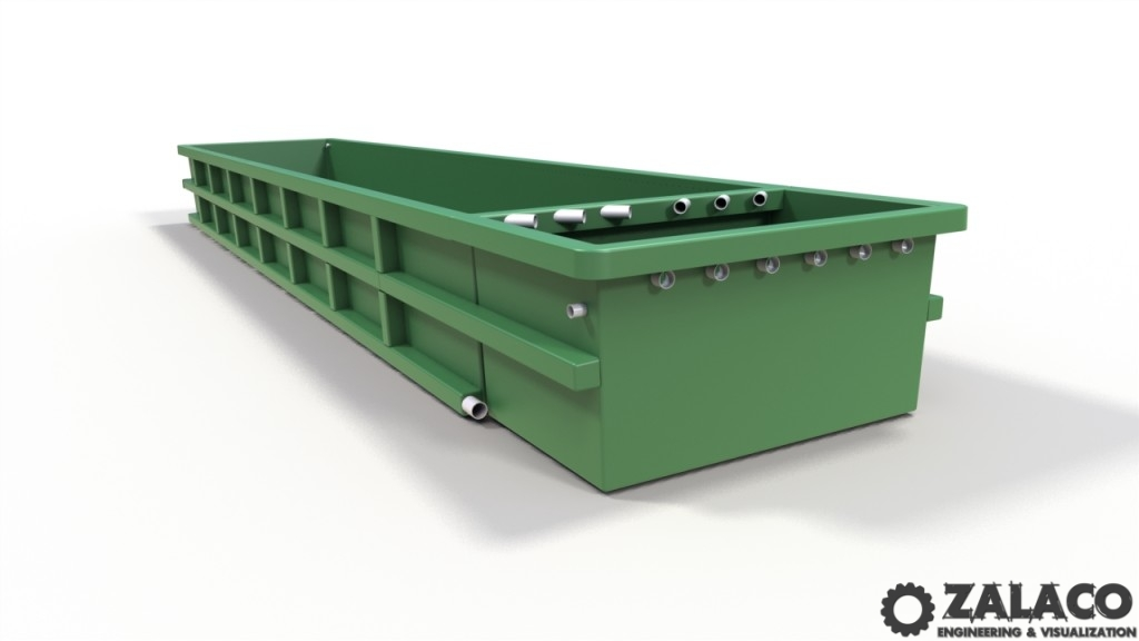 Aquaculture Tank Copyright and Patented by Opposing Flows Aquaculture Inc.
