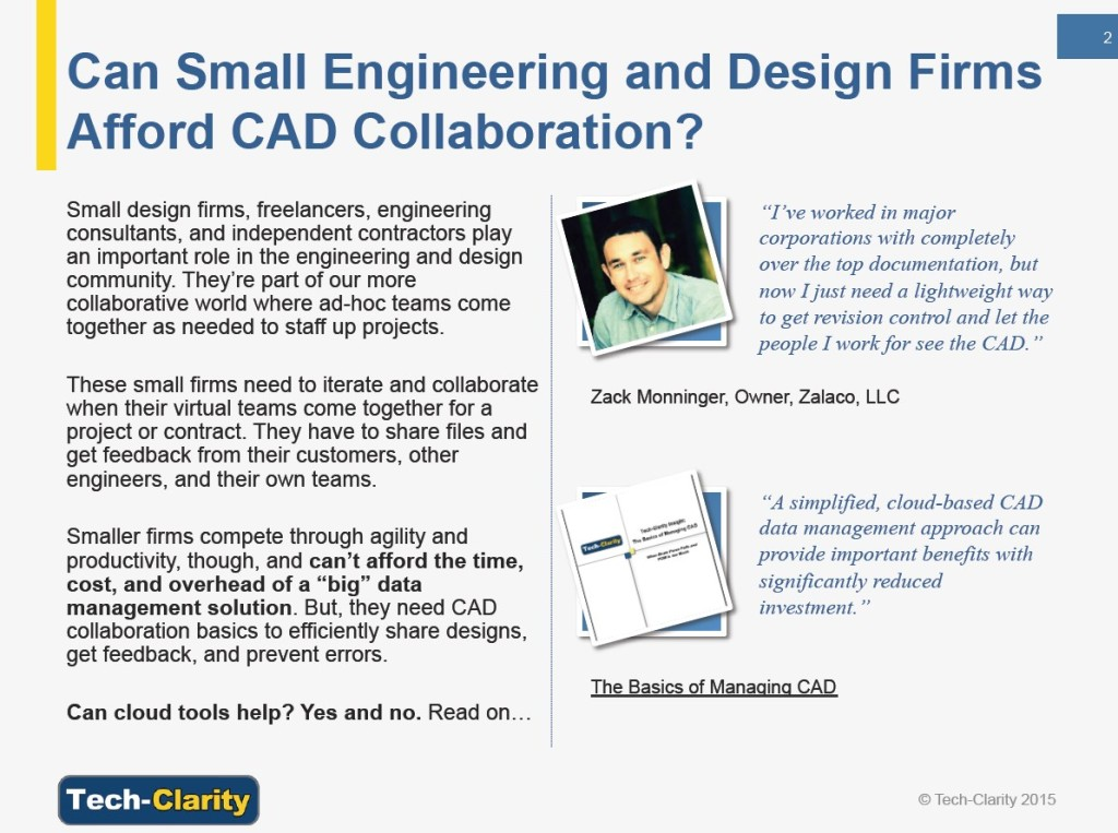 Can small engineering and design firms afford CAD collaboration?